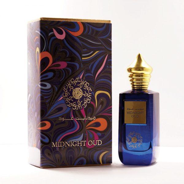 midnight oud sticla parfum arabesc