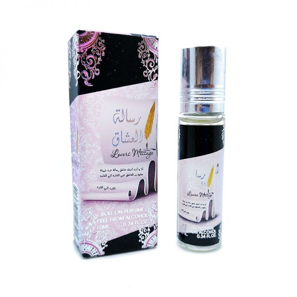 ulei parfumat risalat al ushaaq lovers message 10 ml roll on