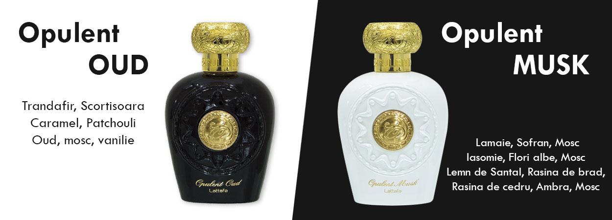 parfumuri arabesti opulent musk si opulent oud