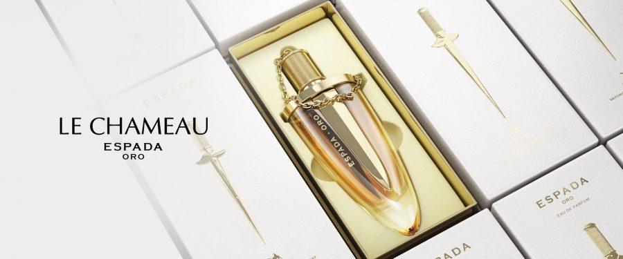 Espada oro parfum arabesc de la emper le chameau