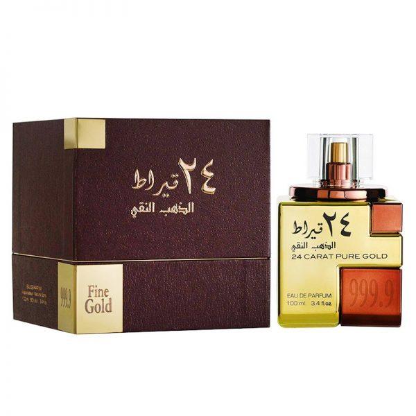parfum arabesc 24 carat pure gold lattafa