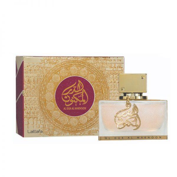 parfum arabesc dur al maknoon gold apa de parfum dama lattafa