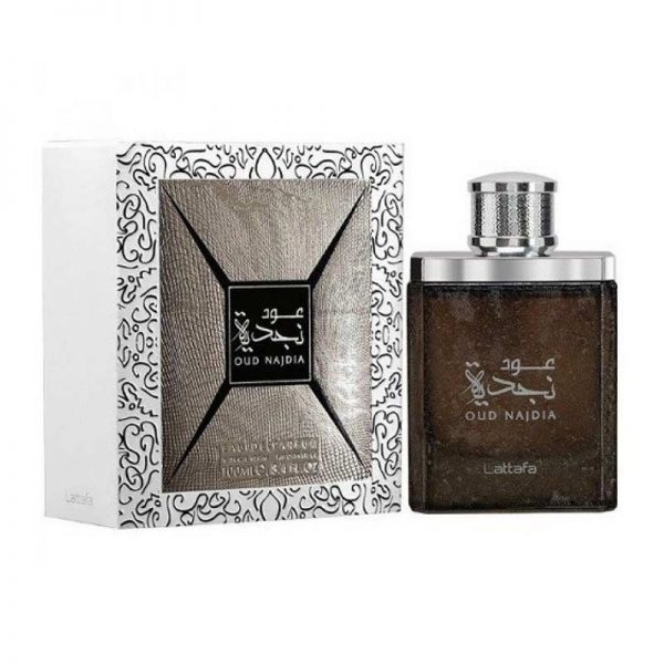 parfum arabesc oud najdia lattafa apa de parfum barbatesc