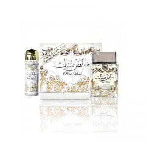 parfum arabesc apa de parfum pure musk lattafa