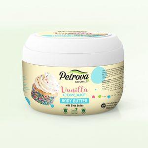 crema unt de corp vanilla cupcake petrova naturals