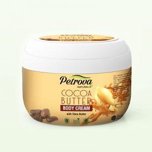 crema de corp cocoa butter petrova naturals