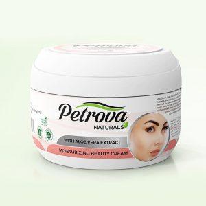 crema de fata moisturising petrova naturals pentru ingrijire fata