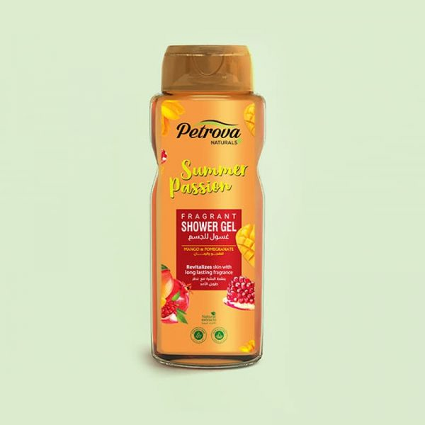 gel de dus summer passion mango si rodie petrova naturals