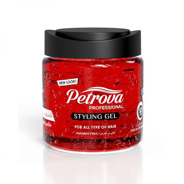 gel de par petrova professional extra strong red 800ml