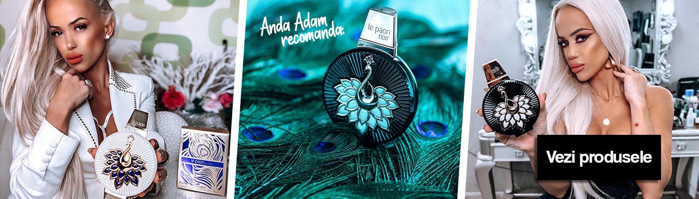 parfumuri le paon noir banner anda adam